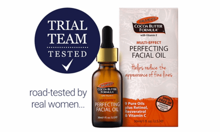 Palmer's Perfecting Facial Oil - Trial Team Tested.
